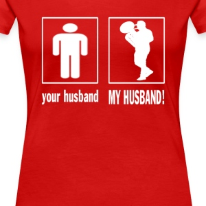 MY HUSBAND - TROMBONIST - Women's Premium T-Shirt