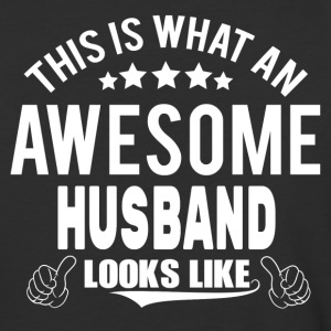 THIS IS WHAT AN AWESOME HUSBAND LOOKS LIKE T-Shirts - Baseball T-Shirt