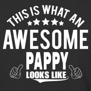 THIS IS WHAT AN AWESOME PAPPY LOOKS LIKE T-Shirts - Baseball T-Shirt
