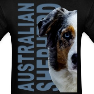 Australian Shepherd Dog T-Shirts - Men's T-Shirt