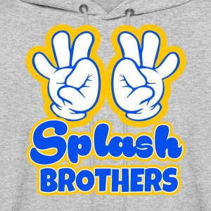 Splash Brothers funny saying - Men's Hoodie
