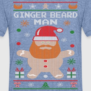 Ginger Beard Man T-Shirts - Unisex Tri-Blend T-Shirt by American Apparel
