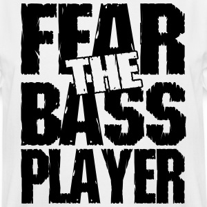 Fear the bass player T-Shirts - Men's Tall T-Shirt