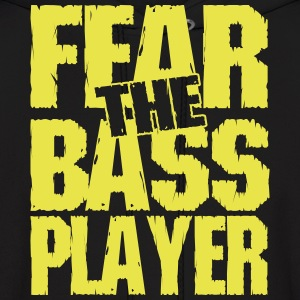 Fear the bass player Hoodies - Men's Hoodie