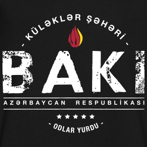 Baku T-Shirts - Men's V-Neck T-Shirt by Canvas