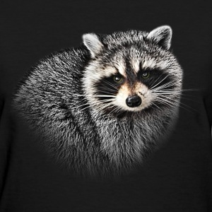 A Gentle Raccoon - Women's T-Shirt