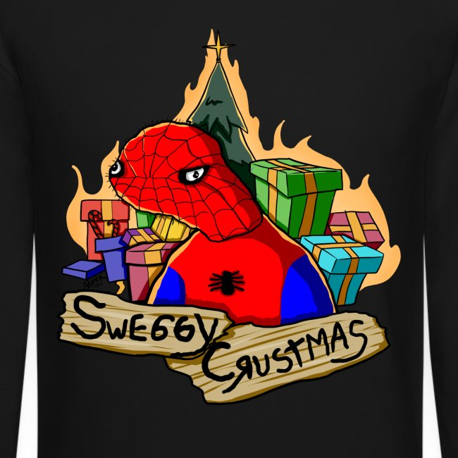 Spodermen Christmas Sweater 2015