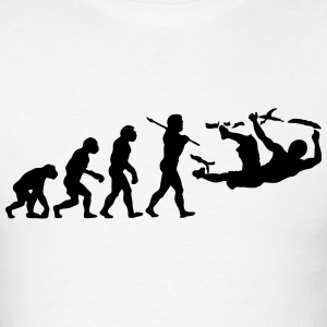bouldering evolution t-shirt - Men's T-Shirt