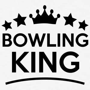 bowling king stars t-shirt - Men's T-Shirt