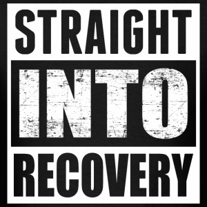 Straight Into Recovery - Men's T-Shirt