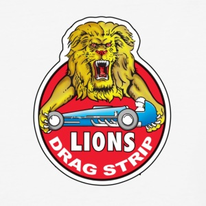 Lions Drag Strip - Baseball Tee - Baseball T-Shirt