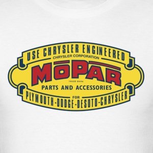 Mopar - White Tee - Men's T-Shirt