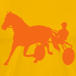 harness racing T-Shirts - Men's Premium T-Shirt