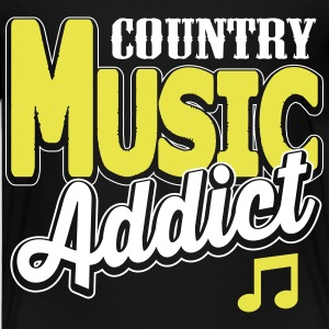 country music addict Kids' Shirts - Kids' Premium T-Shirt