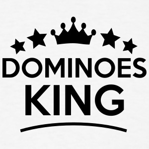 dominoes king stars t-shirt - Men's T-Shirt
