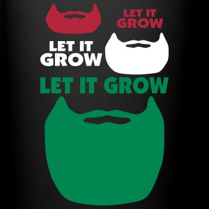 Let It Grow Beard Mugs & Drinkware - Full Color Mug