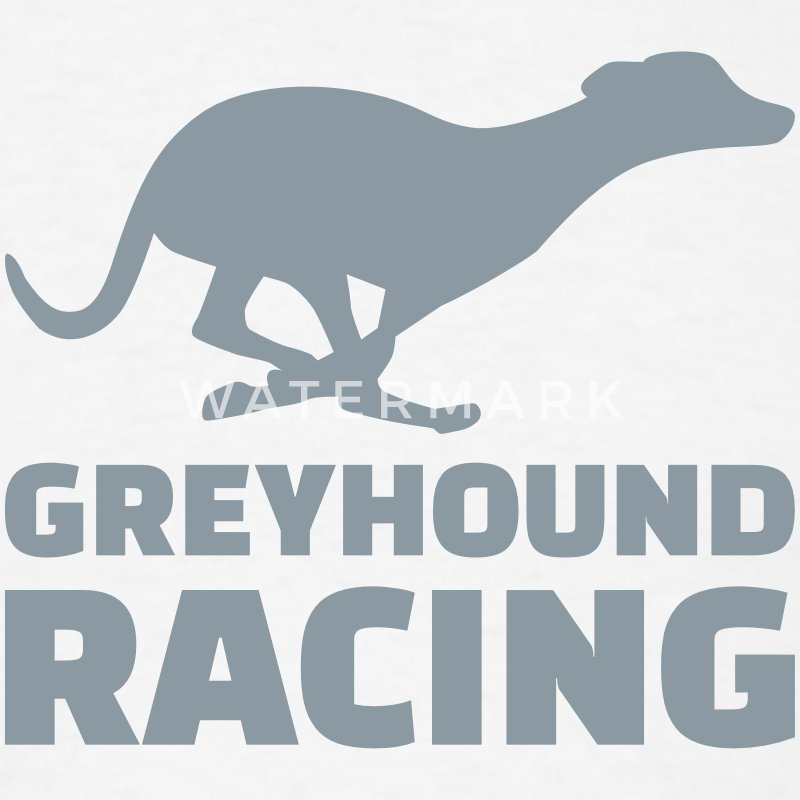 Greyhound racing T-Shirts - Men's T-Shirt