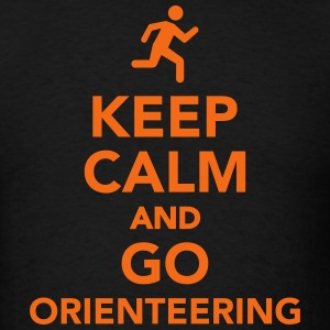 Keep calm and go Orienteering T-Shirts - Men's T-Shirt