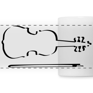 Violin Outline - Panoramic Mug