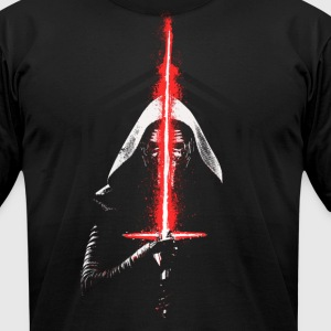 Star Wars Force Awakens Kylo Ren Sith T-Shirts - Men's T-Shirt by American Apparel