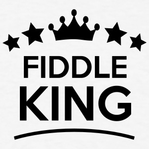 fiddle king stars t-shirt - Men's T-Shirt