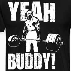 Yeah Buddy! - Ronnie Coleman Deadlift T-Shirts