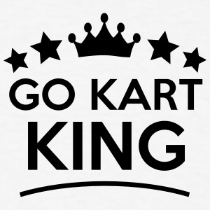 go kart king stars t-shirt - Men's T-Shirt