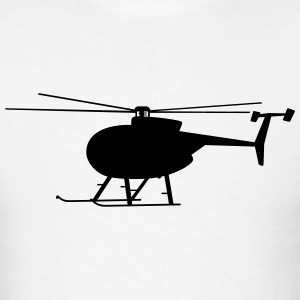 helicopter t-shirt - Men's T-Shirt