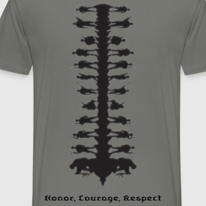 soldiers_4000height T-Shirts - Men's Premium T-Shirt