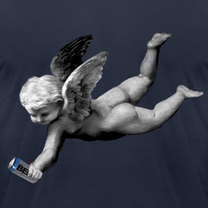 My Guardian Angel - Men's T-Shirt by American Apparel