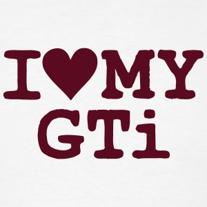 i love heart my gti t-shirt - Men's T-Shirt