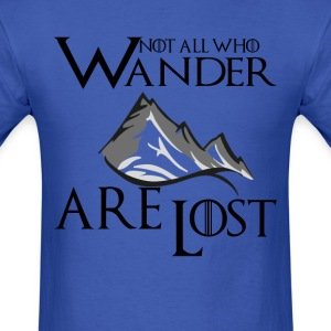 Not All Who Wander  Are  T-Shirts - Men's T-Shirt