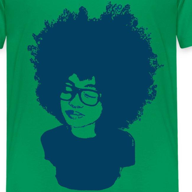 Rock Tha' Fro- Kids Tshirt
