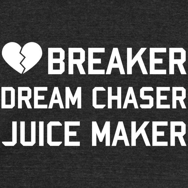 HEART BREAKER UNISEX TEE FADED BLK