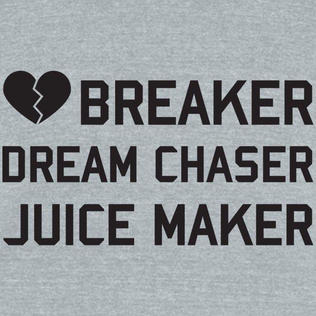 HEART BREAKER UNISEX TEE GYM SHIRT GRAY