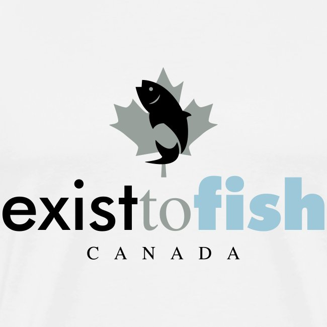 Exist To Fish Premium Men's T Shirt