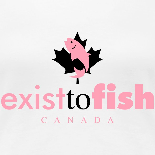 Exist To Fish Premium Women's T Shirt