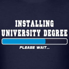 installing degree T-Shirts