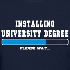 installing degree Women's T-Shirts