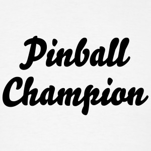 pinball champion t-shirt - Men's T-Shirt