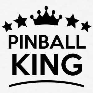 pinball king stars t-shirt - Men's T-Shirt