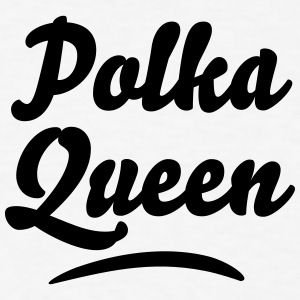 polka queen t-shirt - Men's T-Shirt