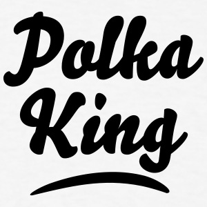 polka king t-shirt - Men's T-Shirt