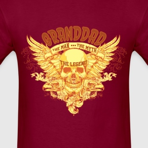 Granddad-The Man The Myth The Legend T-Shirts - Men's T-Shirt