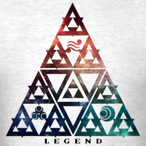 Legend Triforce Galaxy T-Shirts - Men's T-Shirt
