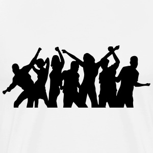 party dance - Men's Premium T-Shirt