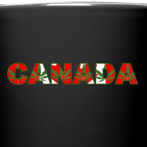 CANADA HEMP FLAG - Full Color Mug