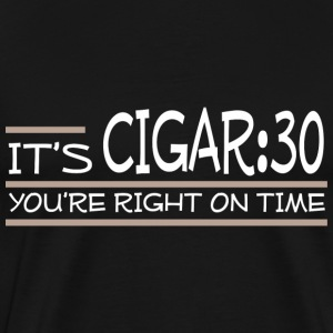 Cigar:30 - Men's Premium T-Shirt