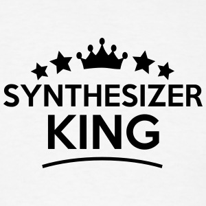 synthesizer king stars t-shirt - Men's T-Shirt