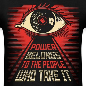 Mr Robot illuminati eye obey style T-Shirts - Men's T-Shirt